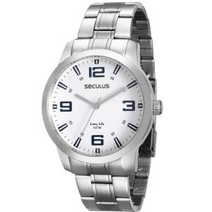 Relógio Masculino Mondaine Analógico - Resistente à Água Long Life 28827G0SVNA2 - R$95,30