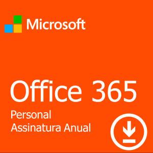 Microsoft Office 365 Personal por R$99,00