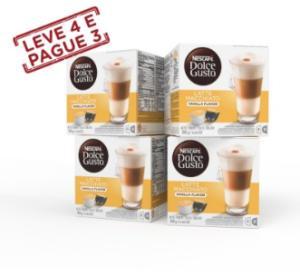 Leve 4, pague 3: Combo Vanilla Latte Macchiato - R$66,60