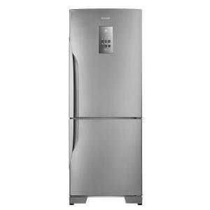 R$250 OFF na geladeira Panasonic Frost Free 2 Portas Inverter NR-BB53PV3XA 425 Litros Inox 110V