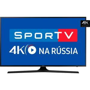 "Smart TV LED 55"" Samsung 55MU6100 UHD 4K HDR Premium 3 HDMI 2 USB 120Hz - R$ 2616"