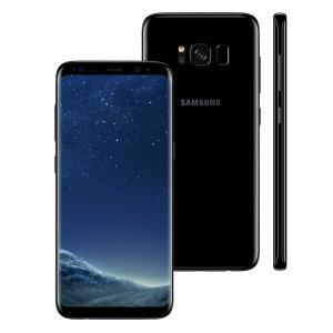 """Smartphone Samsung Galaxy S8 Dual Chip Preto com 64GB, Tela 5.8"""", Android 7.0, 4G, Câmera 12MP e Octa-Core - R$1.732,90"""