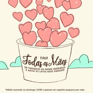 Dia das Mães: gelato grátis dia 13 de maio para mães na Bacio di Latte