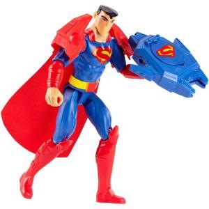 Boneco Articulado com Acessório - 30 cm - Liga da Justiça - Super Armadura - Superman - Mattel - R$40