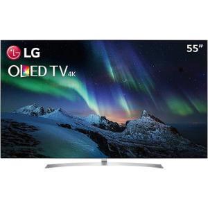 "Smart TV OLED 55"" LG OLED55B7P Ultra HD 4K Premium com Conversor Digital Wi-Fi integrado 3 USB 4 HDMI com webOS 3.5 Sistema de Som Dolby Atmos"