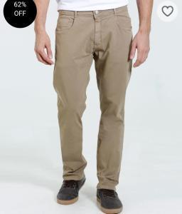 Calça masculina sarja Marisa R$30