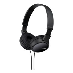 Fone de Ouvido Sony Headphone MDR-ZX110 Preto - Dobravel - R$39,60