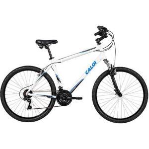 Bicicleta Caloi Sport Comfort Aro 26 21 Marchas - Branco - R$699,99