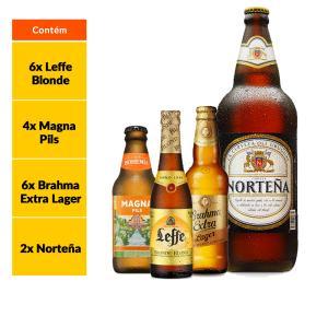 Kit Norteña + Estilos Cervejeiros (18 Garrafas) - R$146,99