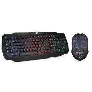 Combo Teclado e Mouse DAZZ Battlefire - 624651 - R$49,90