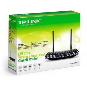 Roteador Tplink - Gigabit dual band Ac750