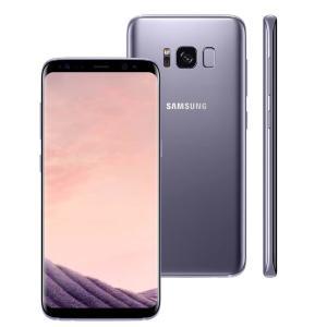 """Smartphone Samsung Galaxy S8 Dual Chip Ametista com 64GB, Tela 5.8"""", Android 7.0, 4G, Câmera 12MP e Octa-Core - R$ 2519"""