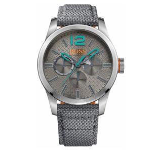 Relógio Hugo Boss Masculino Nylon Cinza 1513379 - R$675