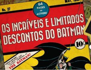 Até 50% OFF em produtos Batman na DC Comics Oficial