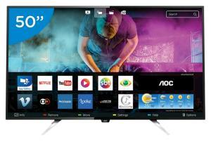 Smart TV led 50' 4K AOC