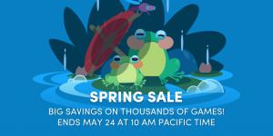 [Gratis] Recompensas de Spring Sale do Humble bundle