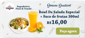 [BH] Bowl de salada especial + Suco de frutas 300 ml no Rappi - R$16