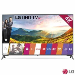 "Smart TV LED 43"" LG 4K/Ultra HD 43UJ6565 webOS - Conversor Digital 2 USB 4 HDMI - R$ 1879"