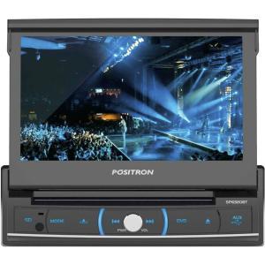 DVD Player Automotivo Pósitron SP6320BT 7' Tela touchscreen retrátil, Bluetooth - R$ 379