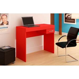 Mesa para Notebook Cooler 1 Gaveta Vermelha - Artely - R$87