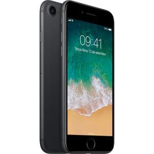 iPhone 7 128GB Preto Matte Desbloqueado IOS 10 Wi-fi + 4G Câmera 12MP - Apple por R$ 2661
