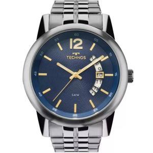 Relógio Technos Masculino Steel 2315KZM/1A ou 2315KZM/1P - R$185