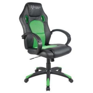 Cadeira Gamer Husky Snow Black Green HSN-BG R$370