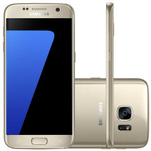 "Smartphone Samsung Galaxy S7 Android 6.0 Tela 5.1"" 32GB 4G Câmera 12MP - R$1439"
