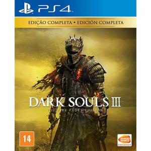 [Cartão Americanas - em até 9x] Dark Souls III - The Fire Fades Edition (Edição Completa) - PS4 - R$97,41
