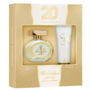 Kit Antonio Banderas Her Golden Secret - R$94