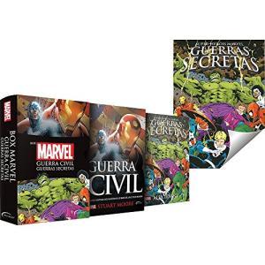 Box Marvel Guerra Civil: Guerras Secretas (Português) Capa Comum - R$26