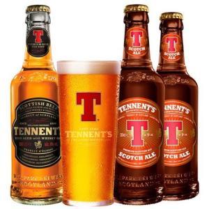Kit Tennent's [3 cervejas + copo] - R$39,90