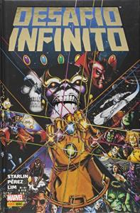Desafio Infinito, por Jim Starlin - Capa dura - R$77