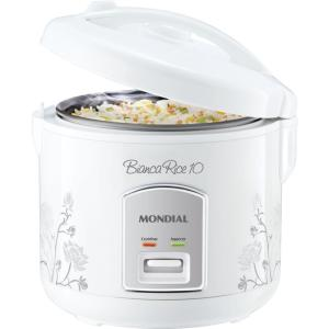 Panela Elétrica Mondial Bianca Rice, 10 Xícaras - PE10 - R$84