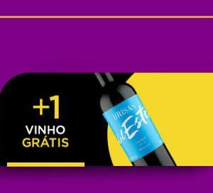 A cada R$99 em compras, ganhe um vinho