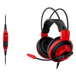 Headset Gamer MSI Preto e Vermelho DS501 - R$130