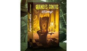 LIVRO GRANDES CONTOS H.P. LOVECRAFT - EDITORA MARTIN CLARET