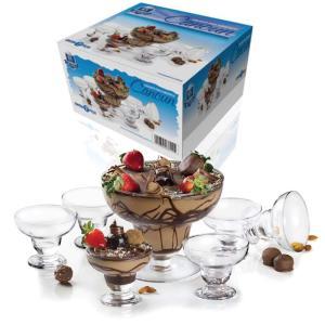 Conjunto de Taças para Sobremesa Ruvolo Cancun 61089 - 7 Peças - R$43
