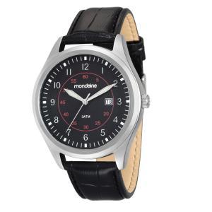 Relógio Masculino Analógico Mondaine - Preta - R$63