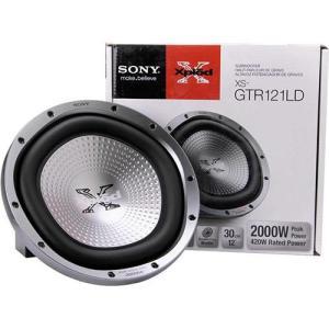 "Subwoofer Sony 12"" XS-GTR121LD 2000W - R$100"