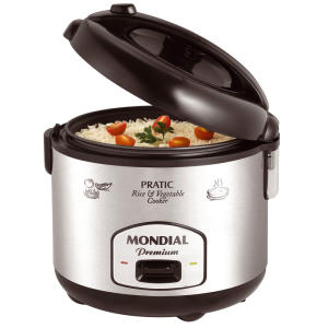Panela Elétrica Mondial Pratic Rice & Vegetables Cooker Premium PE-01 3 L - R$90