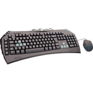 Combo Gamer DAZZ - Teclado Megantereon com 9 teclas de atalho + Mouse 1800 DPI Ambidestro - PC - R$50