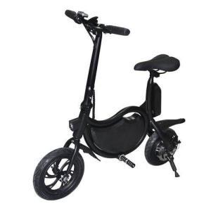 E-Bike Bicicleta Elétrica 350W 36V Enjoy Preto Autonomia até 25km Mymax  R$ 1.899,00