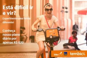 Plano diário Bike Itaú R$0,10