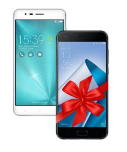 Zenfone Zoom S 4GB/64GB Prata + Zenfone 4 3GB/32GB Preto R$1.999