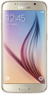 """Smartphone Samsung Galaxy S6 Dourado 4G Tela 5.1"""" Android 5 Câmera 16Mp 32Gb"""