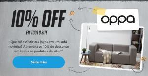 Pague com PayPal no site da OPPA e ganhe 10% de desconto em todo o site