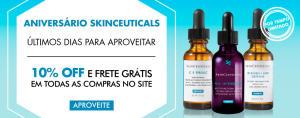 10% OFF + frete grátis na SkinCeuticals