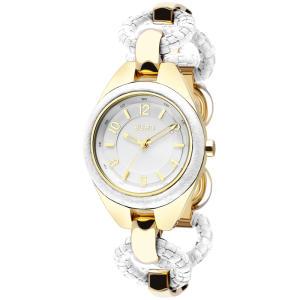 Relógio Euro Feminino Minsk EU2035LQF/3B - Branco E Dourado - R$152
