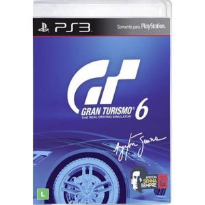 Game Gran Turismo 6 (BF) - PS3 - R$20